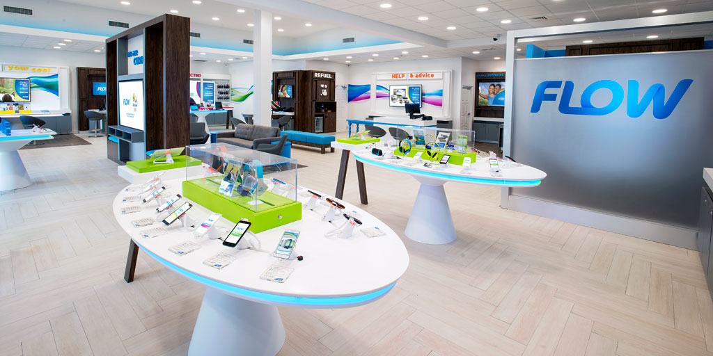 Cable and Wireless Communications FLOW store