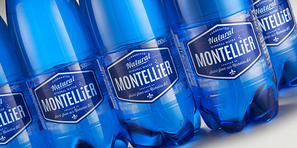 Montellier packaging design