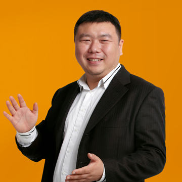 Teddy Ma Playful Headshot