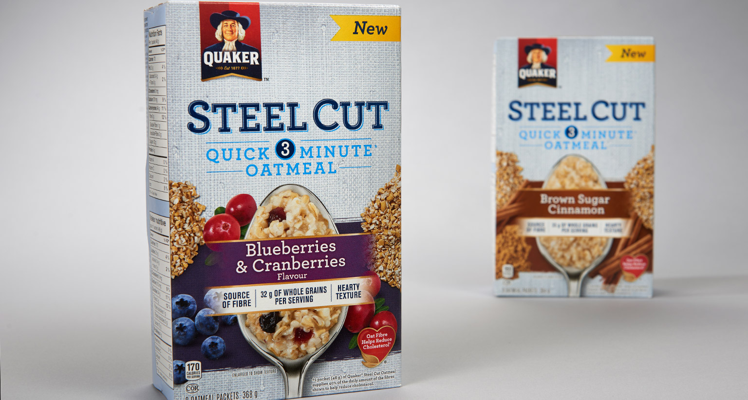 quaker steel There are 170 calories in a 1/3 cup serving of quaker steel cut oats quick 3-minute get full nutrition facts for other quaker products and all your other favorite.
