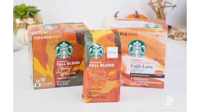 Starbucks Fall Blend