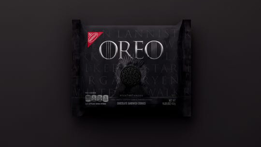 Oreo and Game of Thrones Limited Edition Packaging
