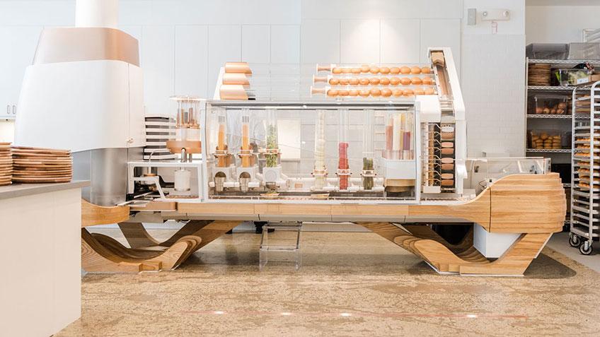Robot Burger Maker