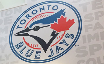 jays logo wall