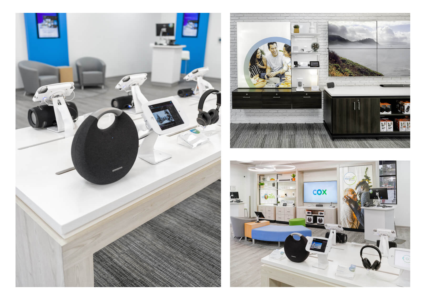 Cox Communication retail spaces images