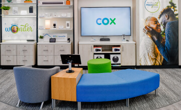 Cox Communication TV area