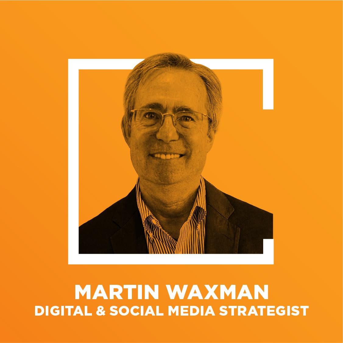 Martin Waxman podcast headshot